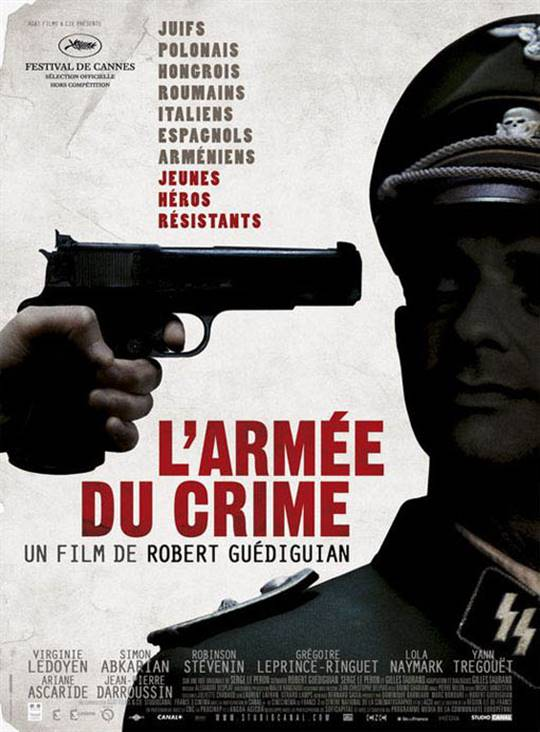 The Army of Crime Large Poster