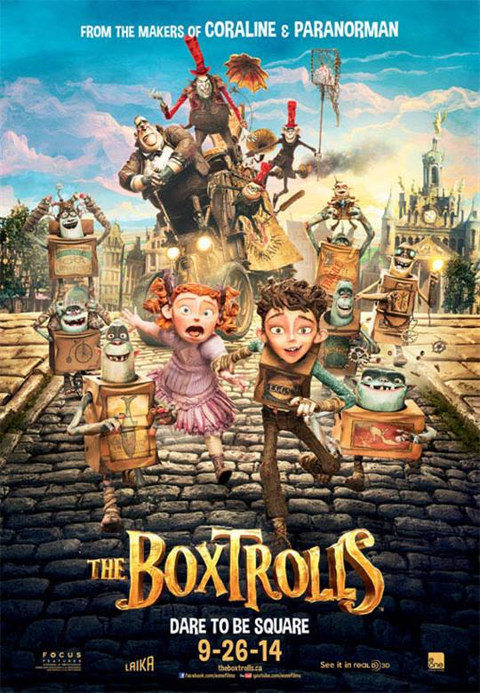 The Boxtrolls Large Poster
