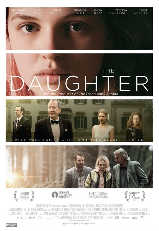 The Daughter Large Poster