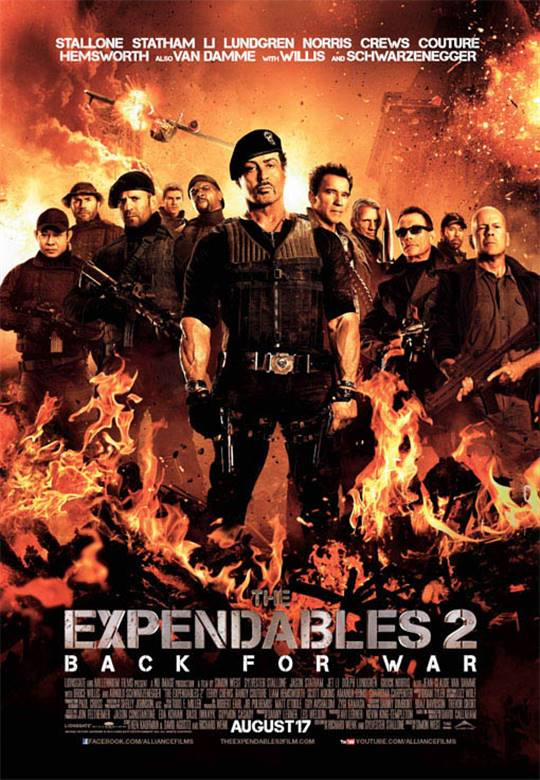 The Expendables 2 Large Poster