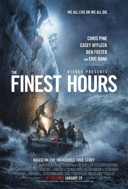 The Finest Hours Large Poster