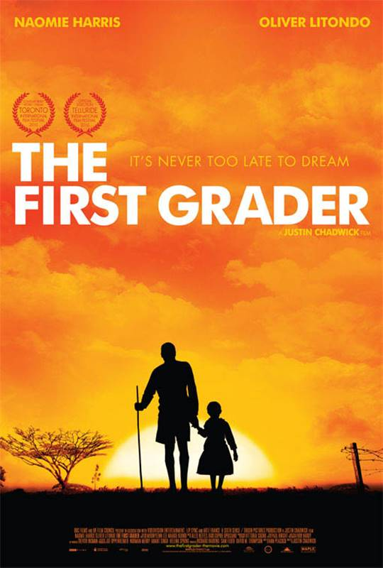 The First Grader Large Poster
