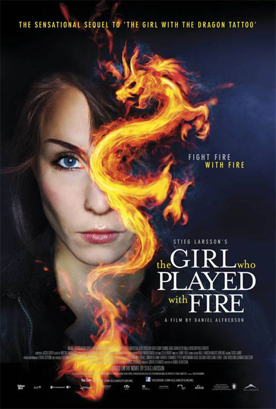 The Girl Who Played With Fire Large Poster