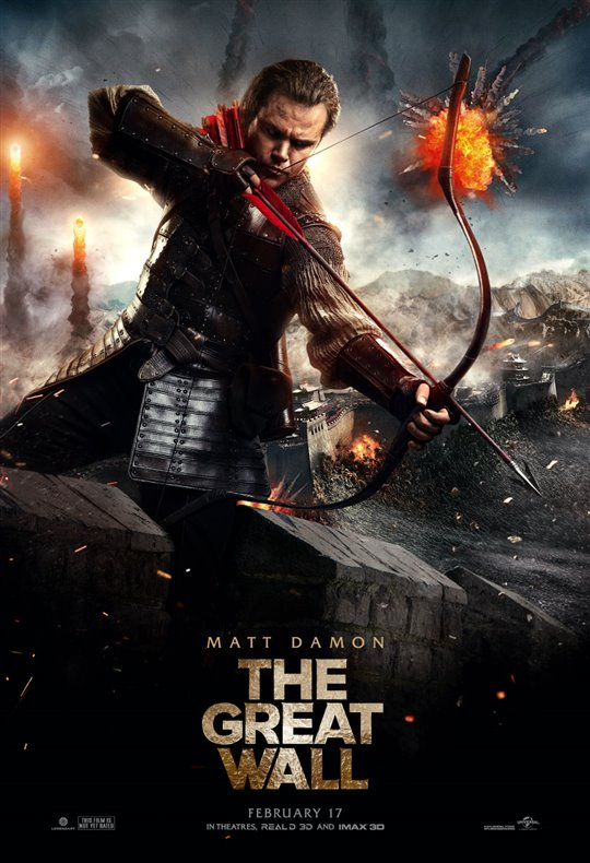 The Great Wall On Dvd Movie Synopsis And Info