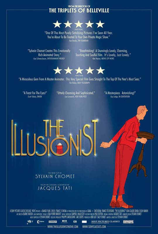 The Illusionist Large Poster