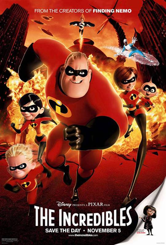 The Incredibles Large Poster