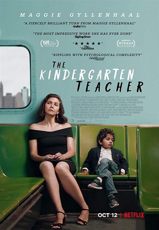 The Kindergarten Teacher Netflix Poster