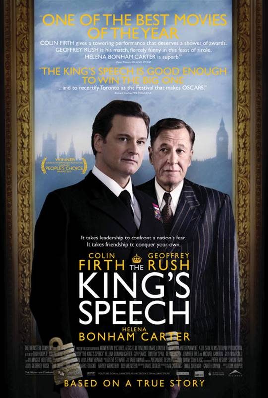 The King's Speech Large Poster