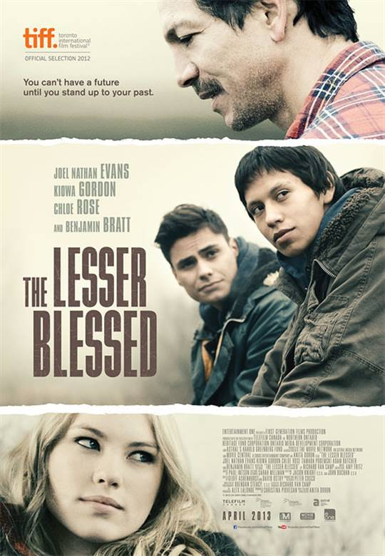 The Lesser Blessed Large Poster