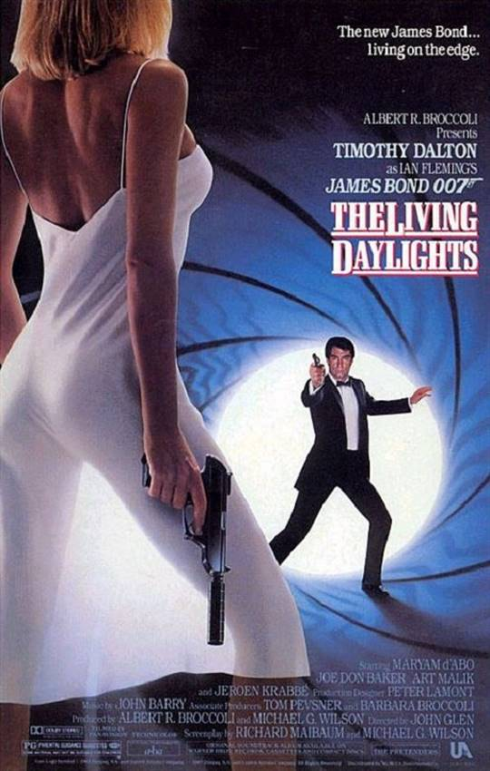 The Living Daylights Large Poster