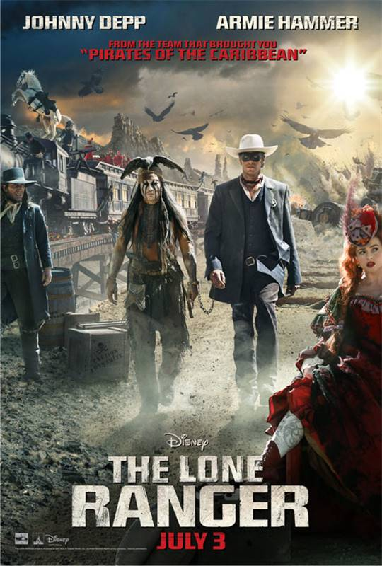 The Lone Ranger Large Poster