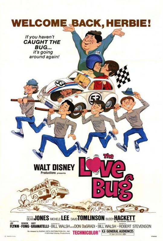 The Love Bug Large Poster