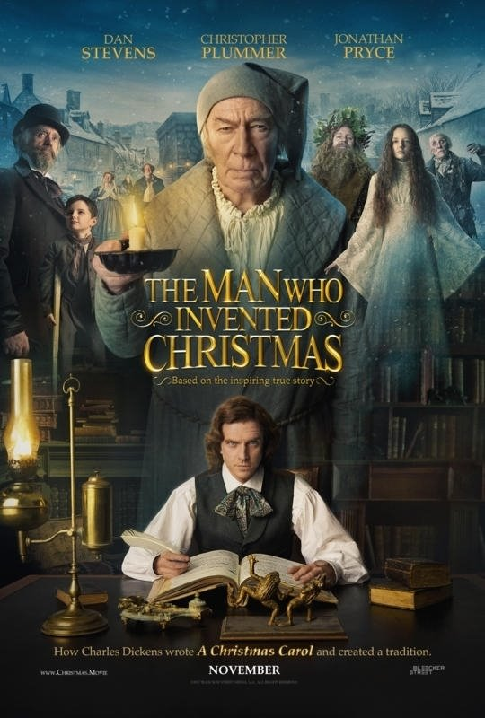 The Man Who Invented Christmas Large Poster