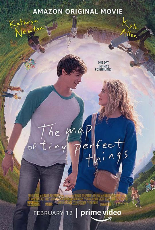 The Map of Tiny Perfect Things (Amazon Prime Video) Large Poster