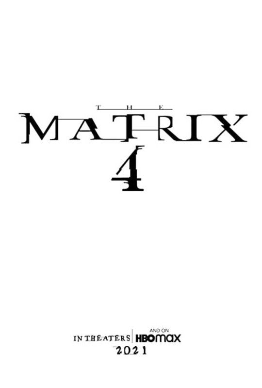 The Matrix 4 Large Poster