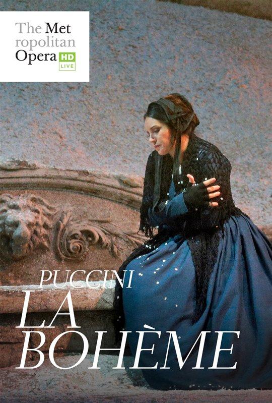 The Metropolitan Opera La Bohme Poster