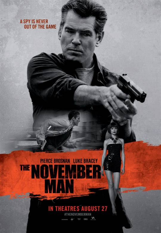 The November Man Large Poster