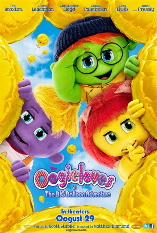 The Oogieloves in the Big Balloon Adventure Large Poster