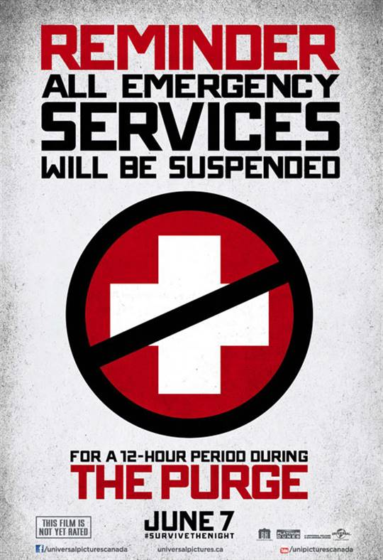 The Purge Large Poster