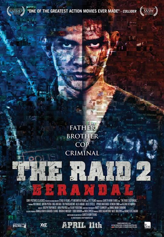 The Raid 2: Berandal Large Poster
