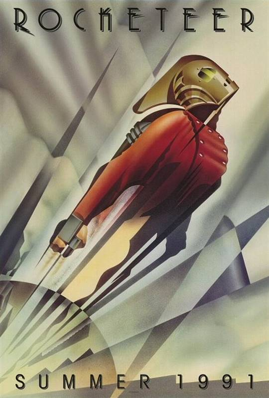 The Rocketeer Large Poster