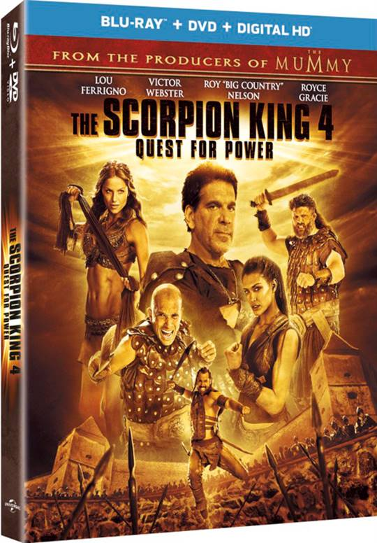 The Scorpion King 4 Quest For Power On Dvd Movie