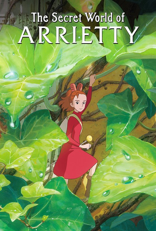 The Secret World of Arrietty (Subtitled) Large Poster