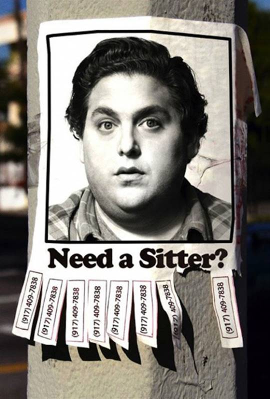 The Sitter Large Poster