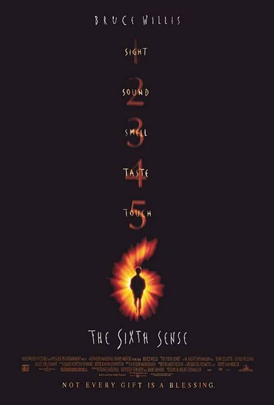 The Sixth Sense Large Poster