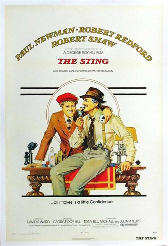The Sting (1973) Large Poster