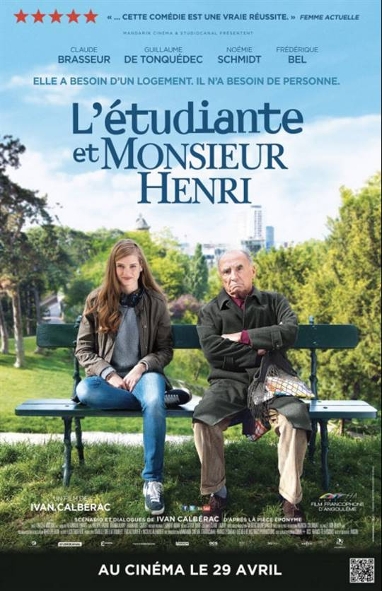 The Student and Mister Henri Large Poster