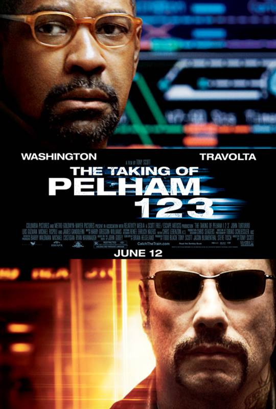 The Taking of Pelham 1 2 3 Large Poster