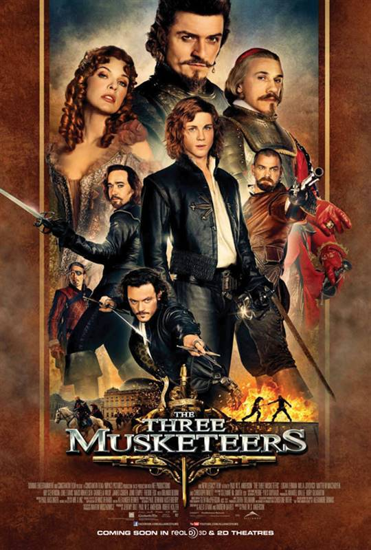 The Three Musketeers Large Poster