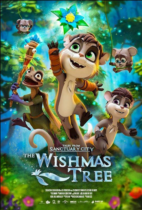 The Wishmas Tree Large Poster