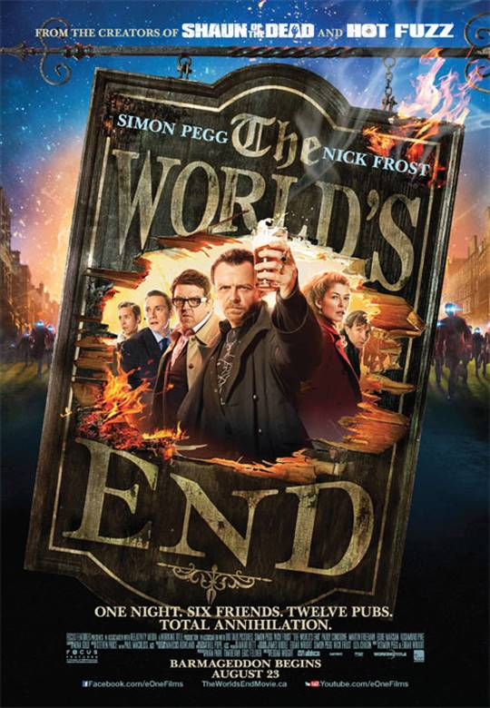 The World's End Large Poster