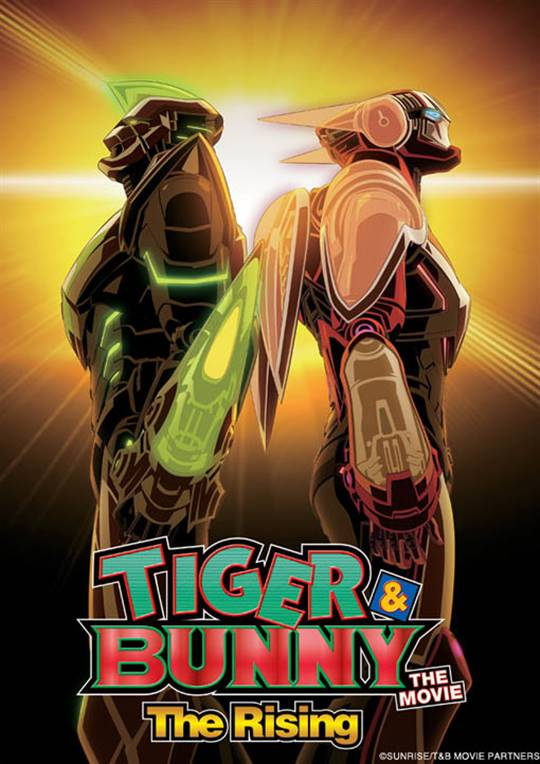 Tiger & Bunny The Movie: The Rising  Large Poster