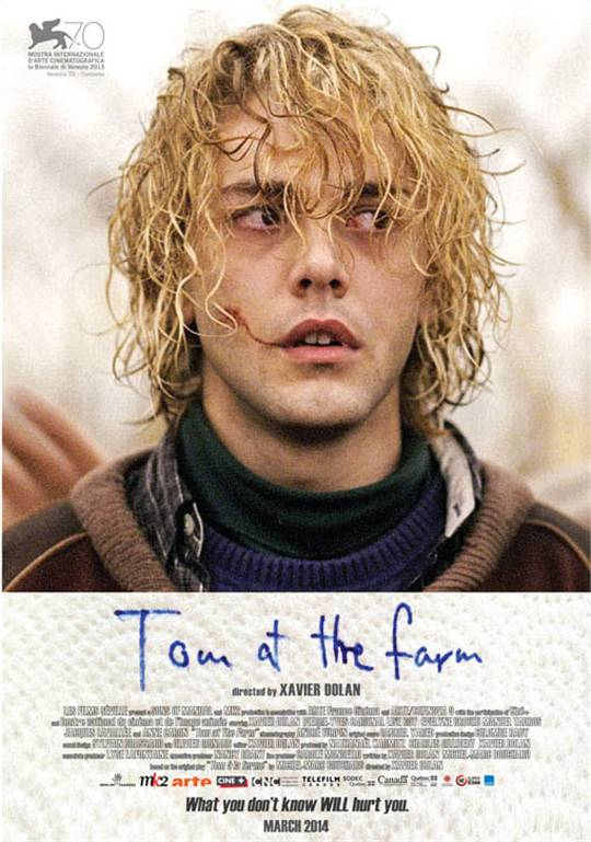 Tom at the Farm Large Poster