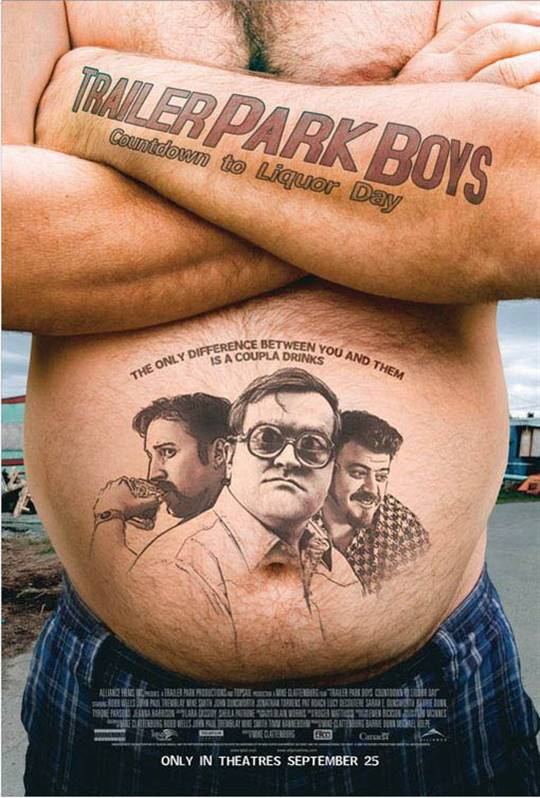 Trailer Park Boys: Countdown to Liquor Day Large Poster