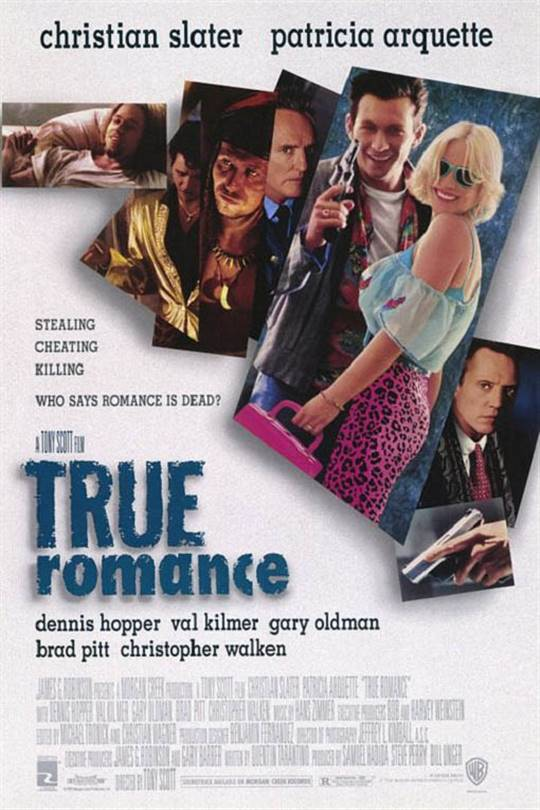 True Romance Large Poster