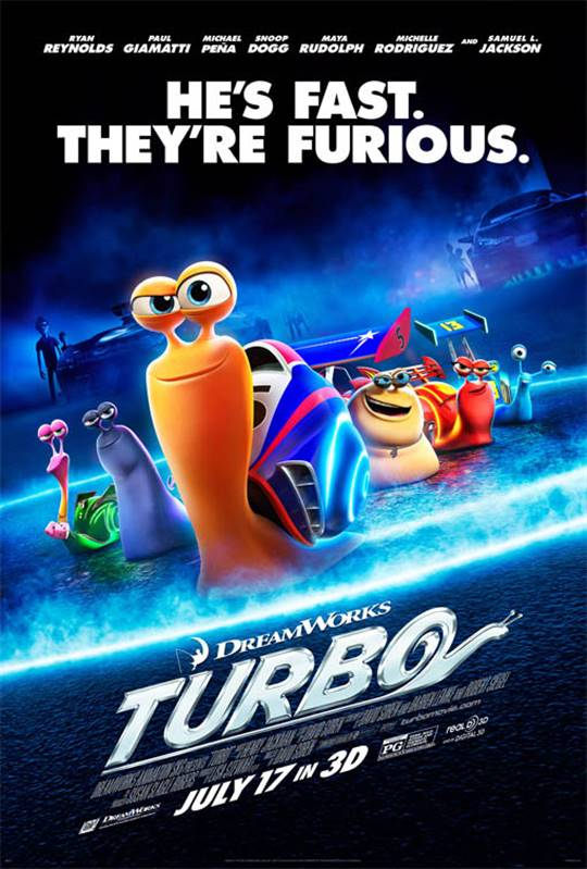 Turbo Large Poster