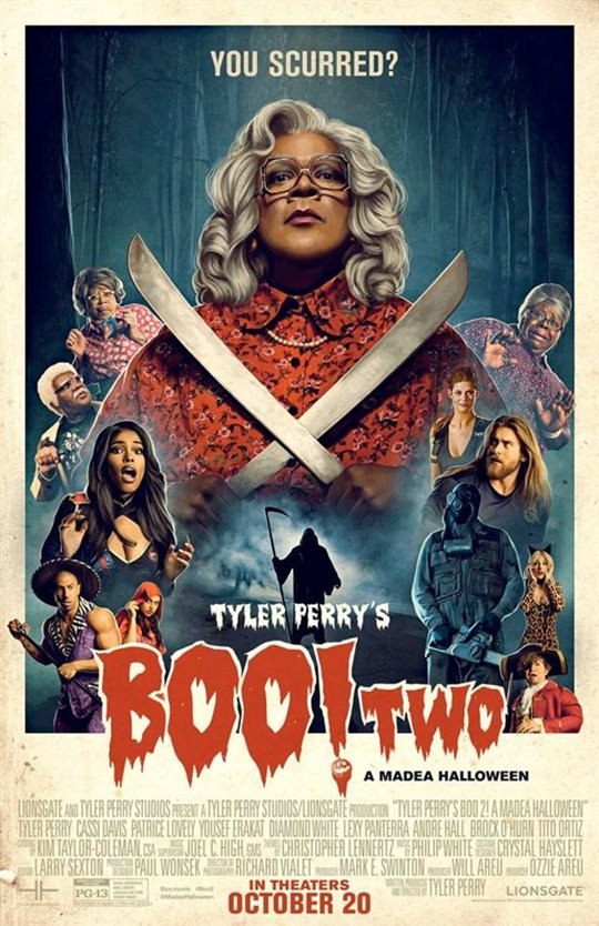 Tyler Perry's Boo 2! A Madea Halloween (v.o.a.) Large Poster
