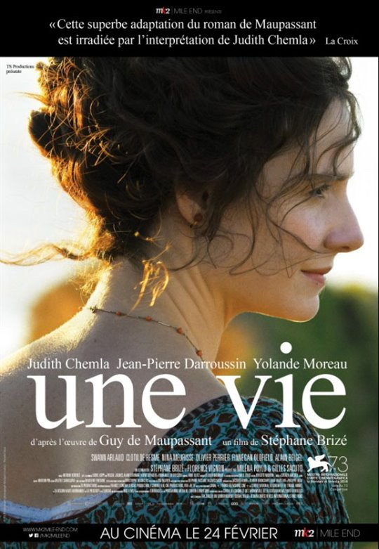 Une vie Large Poster