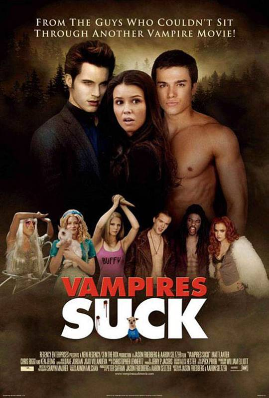 Vampires Suck Large Poster
