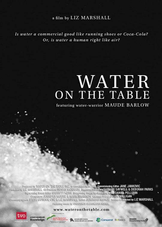 Water on the Table Large Poster