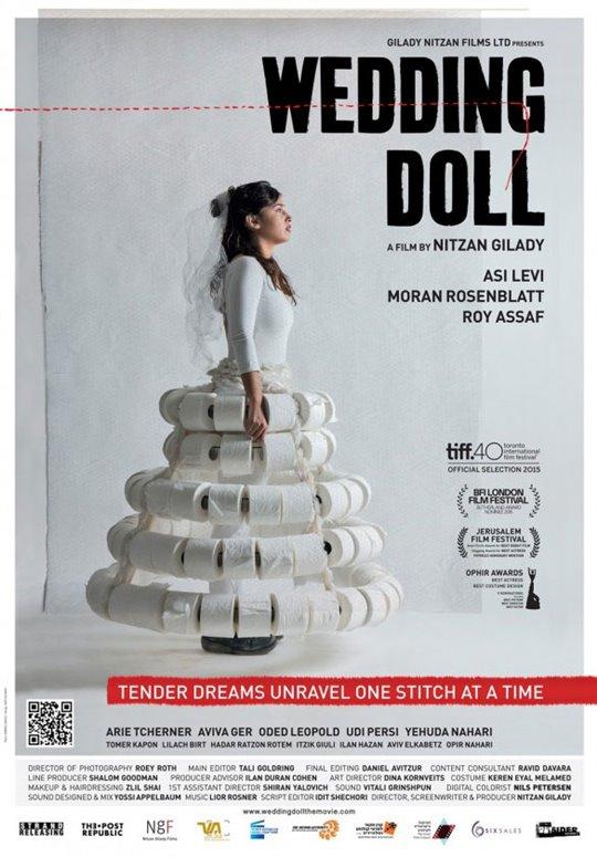 Wedding Doll Large Poster
