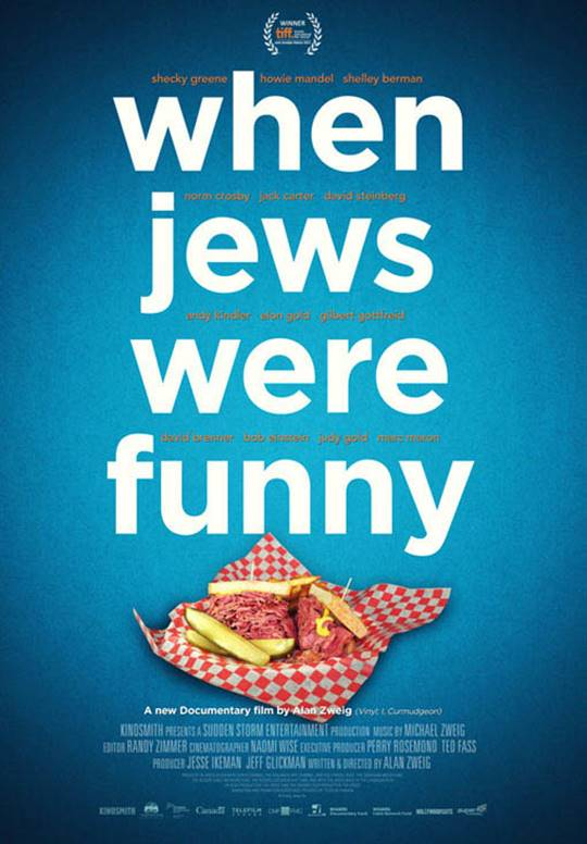 When Jews Were Funny Large Poster