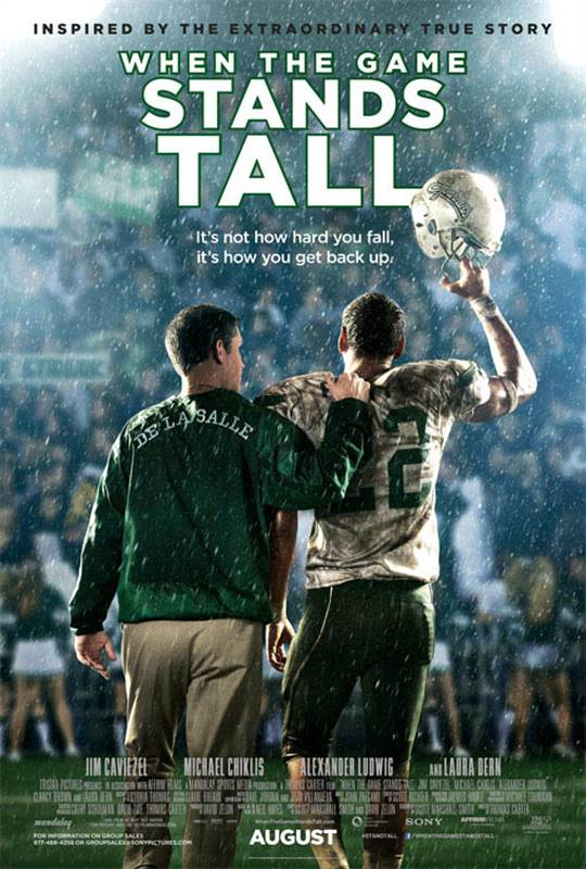 When the Game Stands Tall Large Poster