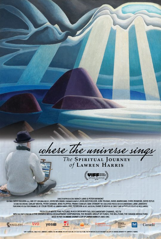 Where the Universe Sings: The Spiritual Journey of Lawren Harris Large Poster
