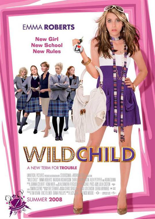 Wild Child Large Poster