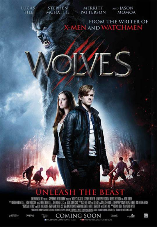 Wolves Large Poster